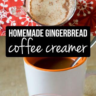 Homemade Gingerbread Coffee Creamer.