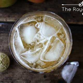 The Royal Apple Cocktail.