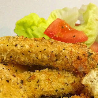 Vegan Baked Tofu Cheese Finger (Oven & Air Fryer).
