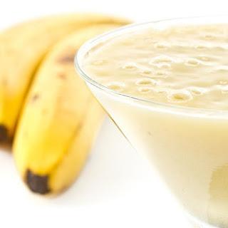 Banana-Apple Smoothie.