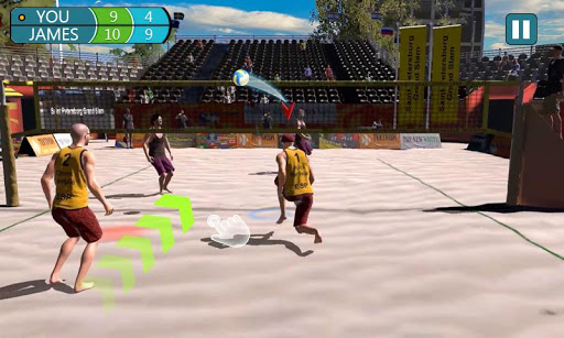 Download Beach Volleyball Strike 3D - Visual Sports Game 1.0 MOD APK  (Unlimited Money) for android