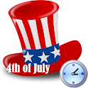 4th July Live Countdown icon