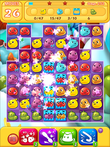 Jelly Jelly Crush - In the sky screenshots 13