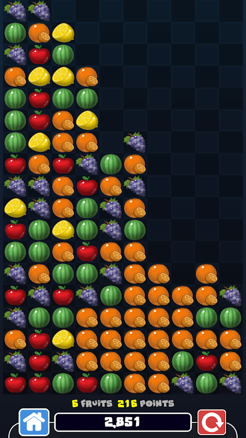 Fruits Tap - Touch same Fruits- screenshot