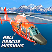 City Helicopter Rescue Game