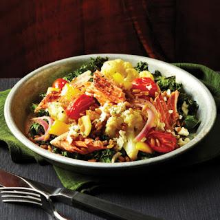 Roasted Salmon & Summer Vegetable Farro Salad Recipe