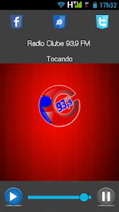 Rádio Clube 93,9 FM screenshot 1