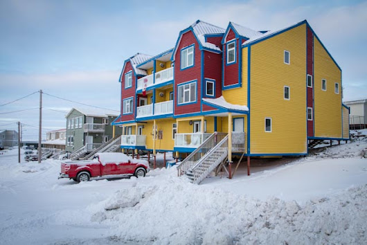 <p> Plateau housesit. Iqaluit, Nunavut. Dec 2014 to Jan 2015</p>