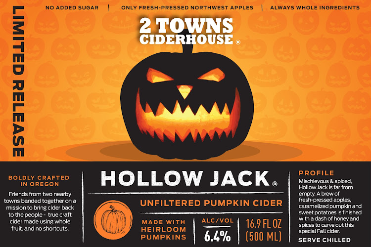 Logo of 2 Towns Ciderhouse - Hollow Jack