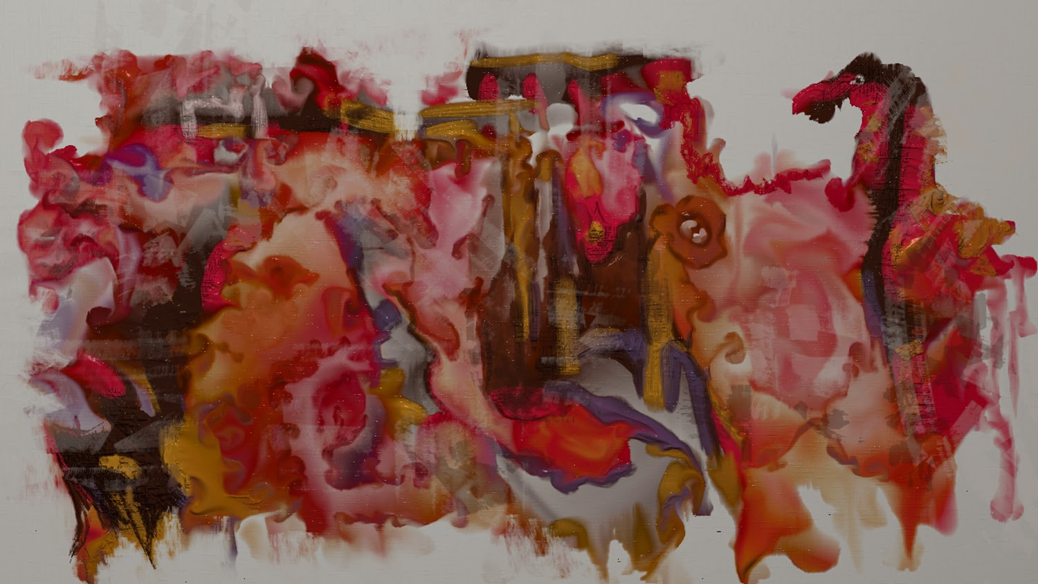 Photo: 20 minute abstract doodle - done using Verve Painter