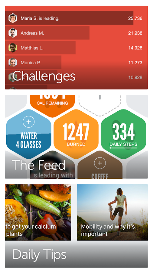 Argus Health & Calorie Counter- screenshot