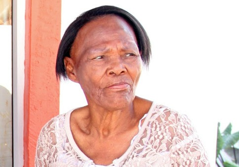 Pensioner Martha Marais was tied to a bench at Mamelodi Hospital.