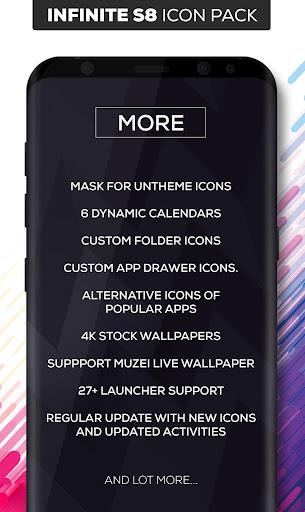 Infinite S9 Icon Pack  screenshots 9