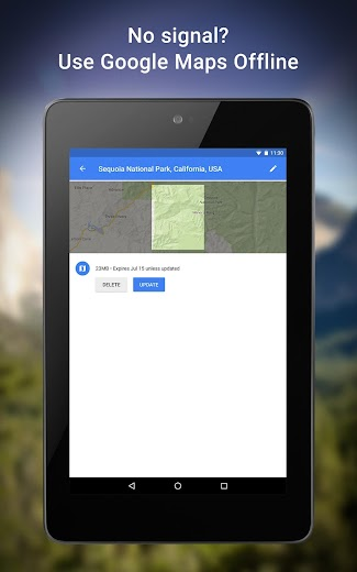Screenshot 21 for Google Maps's Android app'