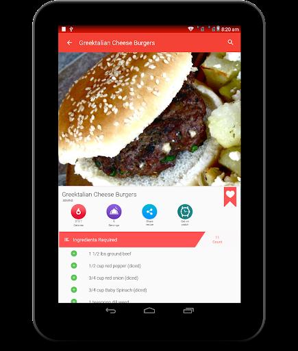 Burger And Pizza Recipes 25.7.5 screenshots 19