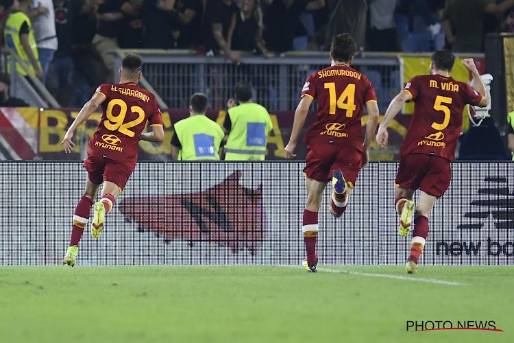 🎥 L'AS Rome remporte la 1000e de Mourinho qui exulte après le but tardif d'El Shaarawy