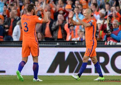 Les Pays-Bas au mondial? Robben veut encore y croire