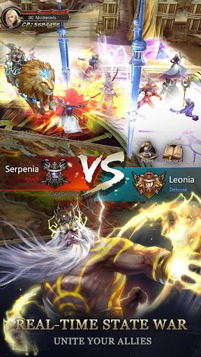 Immortal Thrones-3D Fantasy Mobile MMORPG  screenshots 4