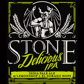 Logo of Stone Delicious IPA