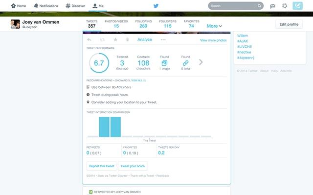 Twitter Counter (BETA)