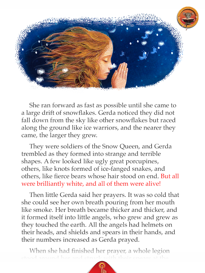 Snow Queen: Interactive Story- screenshot