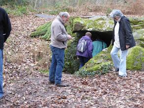 Photo: la grotte aux ossements