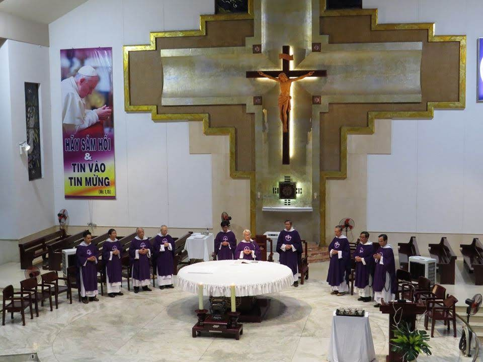 Giáo xứ bước vào mùa chay 2020