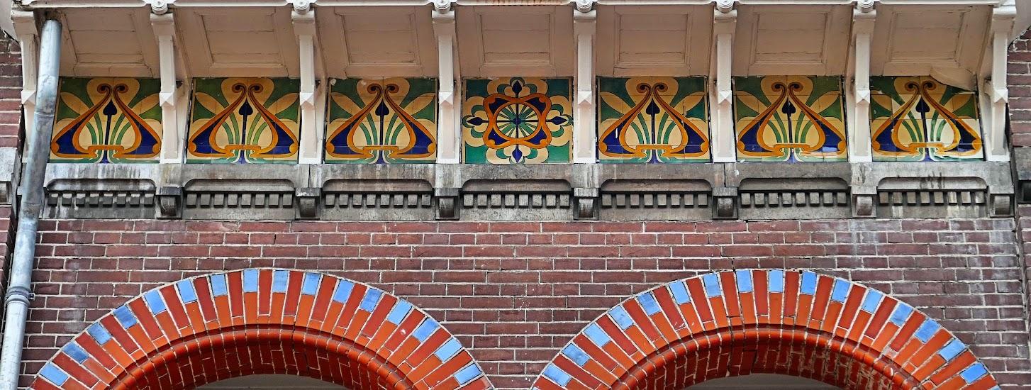 Aangeboden door: Stichting Microtoerisme InZicht Fotoblog Meppel Zuideinde 60-62 Art Nouveau woonhuis