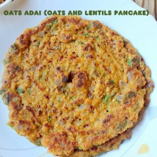Oats Adai Or Oats And Lentils Pancake