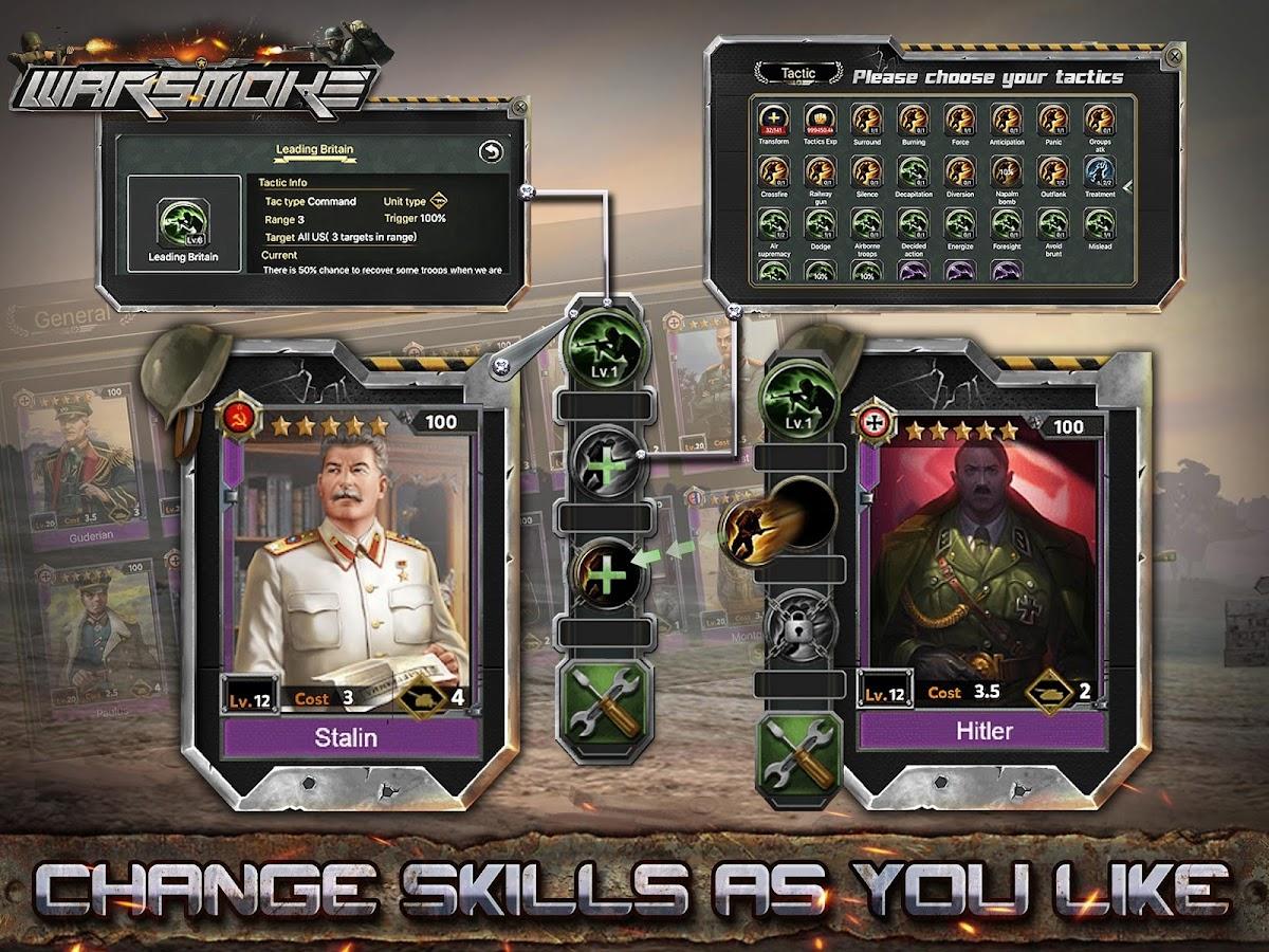 Warsmoke-MMO SLG Game – zrzut ekranu
