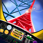 Roller Coaster Train Simulator 2 in 3D
