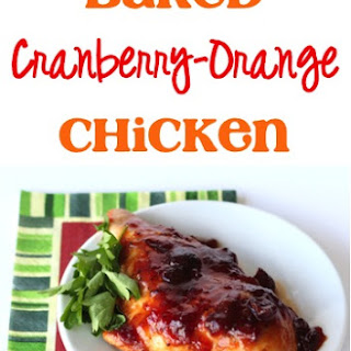 Baked Cranberry Orange Chicken Recipe!
