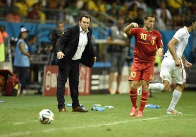 """Hazard: """"Le poste d'attaquant ? Un problème de luxe désormais"""""""