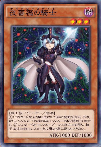 夜薔薇の騎士