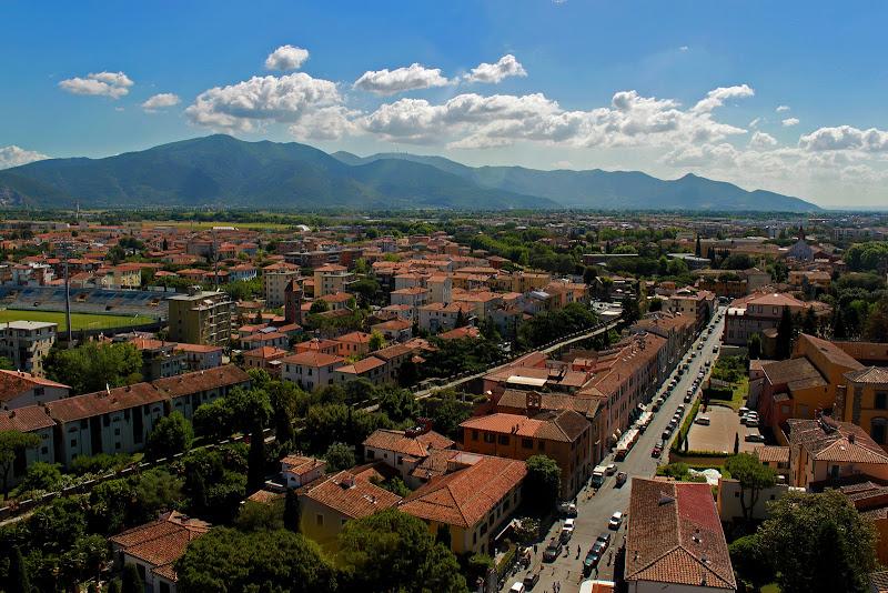 Photo: Mountains above Pisa