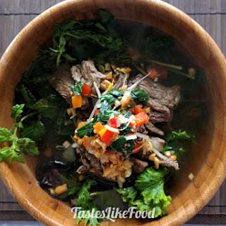 Vietnamese Beef Soup Bún bò Nam Bộ