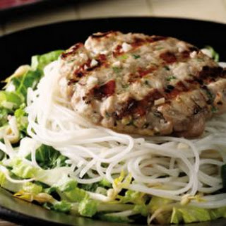 Hanoi-Style Tuna Patty Salad.