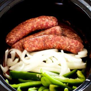 Sausage Peppers Crock Pot Recipes