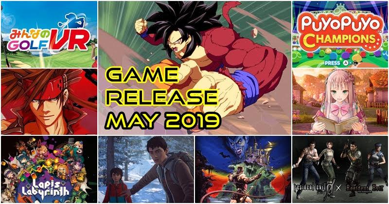 Game Release May 2019 เกมเด็ด เดือนพฤษภาคม