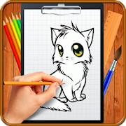 Learn How to Draw Chibi Anime Cats icon
