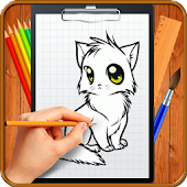 Learn How to Draw Chibi Anime Cats
