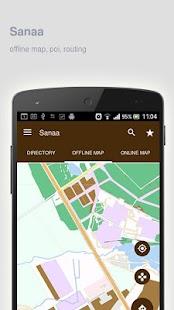 Sanaa Map Offline Android Apps On Google Play - Sanaa map