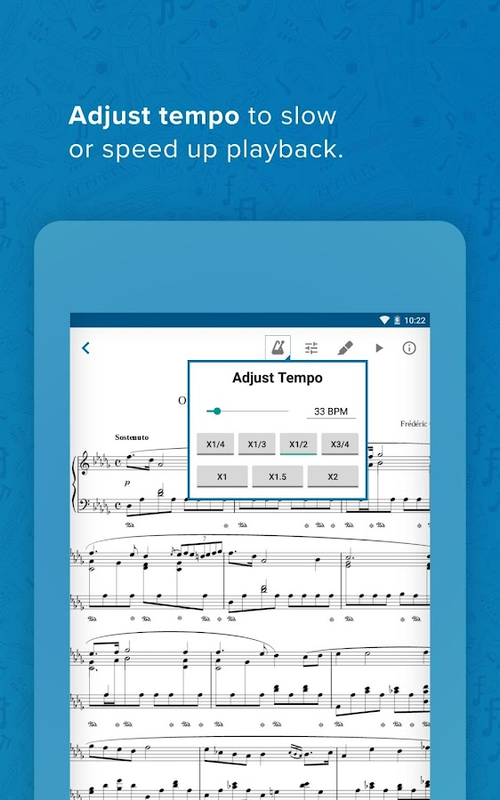 Musicnotes Sheet Music Player- screenshot
