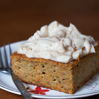 Highland Brewing Company & Harvest Cake with Apple Cider Frosting.