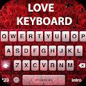 Love keyboard theme Stylish and latest icon