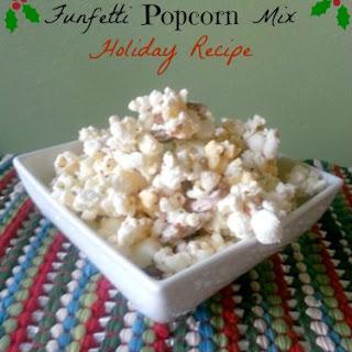 Funfetti Popcorn Mix Holiday