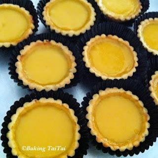 Cantonese Egg Tarts 港式蛋塔