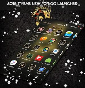 2018 Téma nové pro GO Launcher - náhled