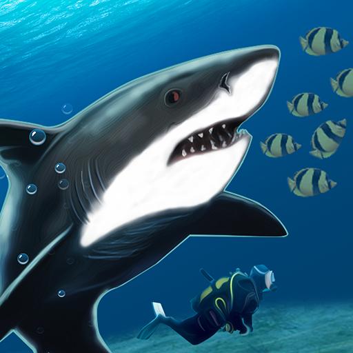 Shark Bite Attack 3D-Shark Games