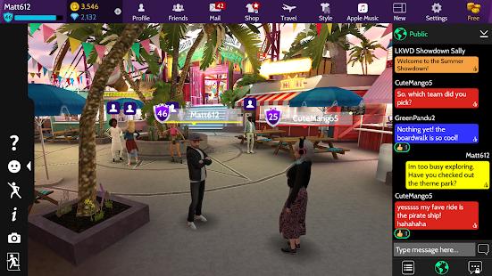 بناء الحياة - العالم الافتراضي 3D